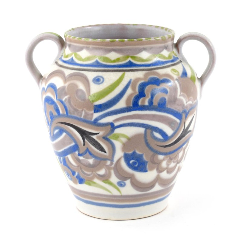 A Poole Pottery Vase By Eileen Prangnell Woolley And Wallis