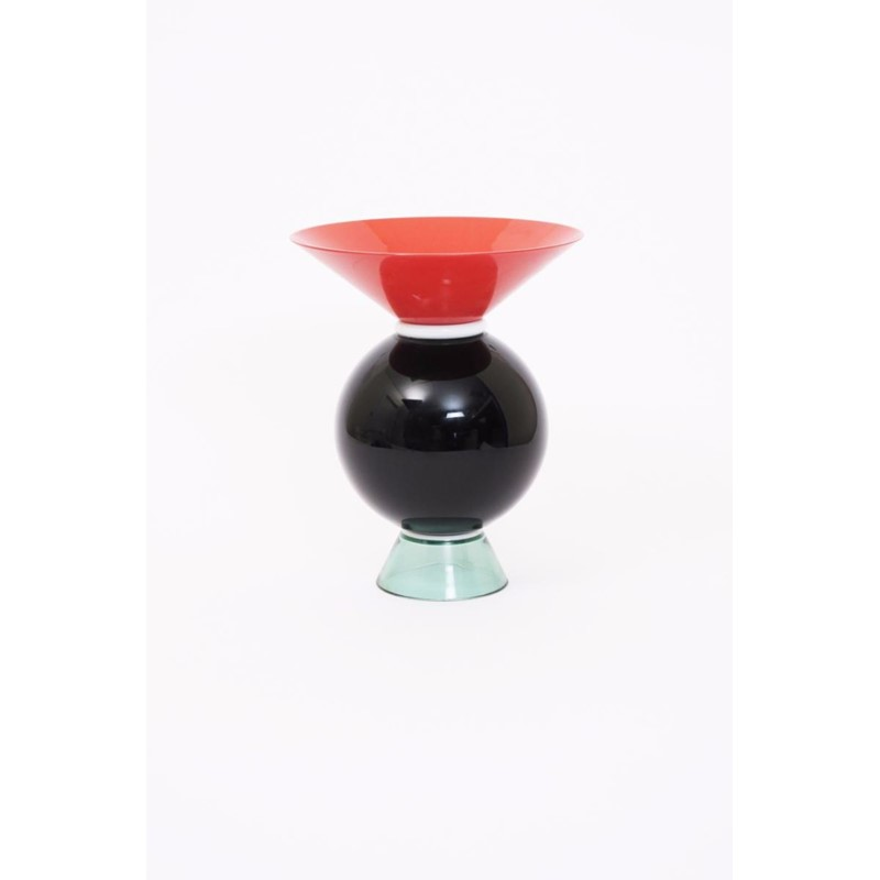 Yemen A Venini Glass Vase Designed By Ettore Sottsass Woolley And
