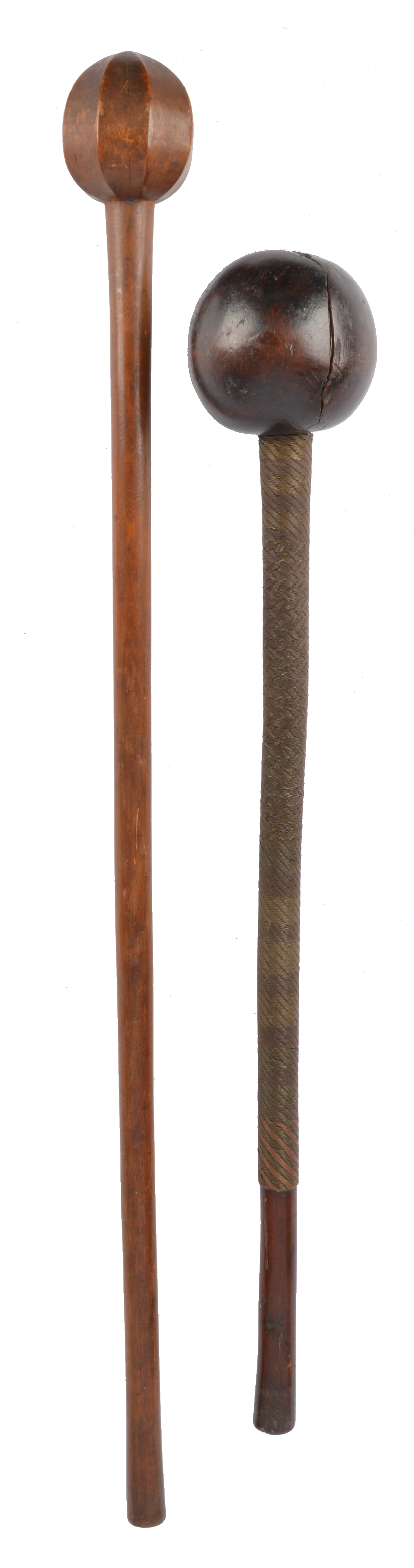 An African throwing club (knobkerrie)