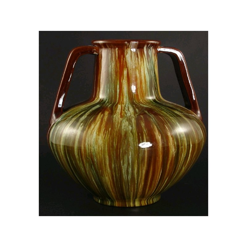 A Bretby Pottery Vase Woolley And Wallis