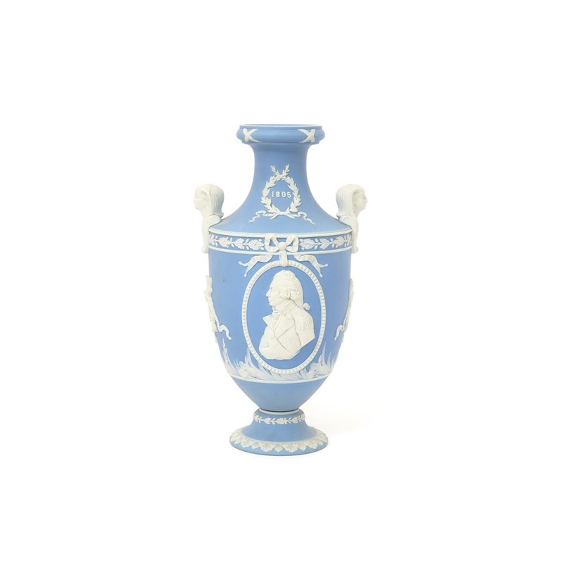 A Wedgwood Jasperware Vase C1905 Woolley And Wallis